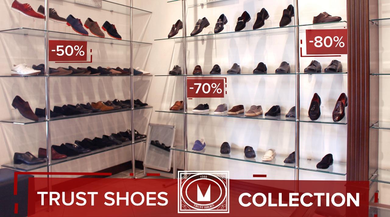 90576afafdb Скидки до 80% в магазине мужской обуви и одежды Trust shoes - UzNews.uz