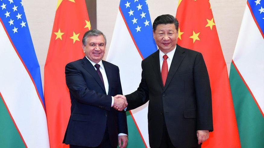 Шавкат Мирзиёев провел встречу с главой Китая