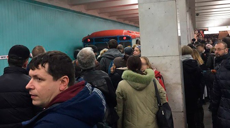 Узбекистанец погиб, упав на рельсы на станции метро «Юго-Западная» в Москве