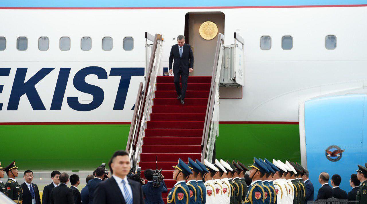 Путин встретился спрезидентом Узбекистана врамках ШОС