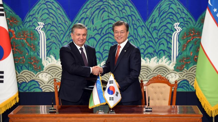 Южная Корея построит в Ташкенте ультрасовременный город