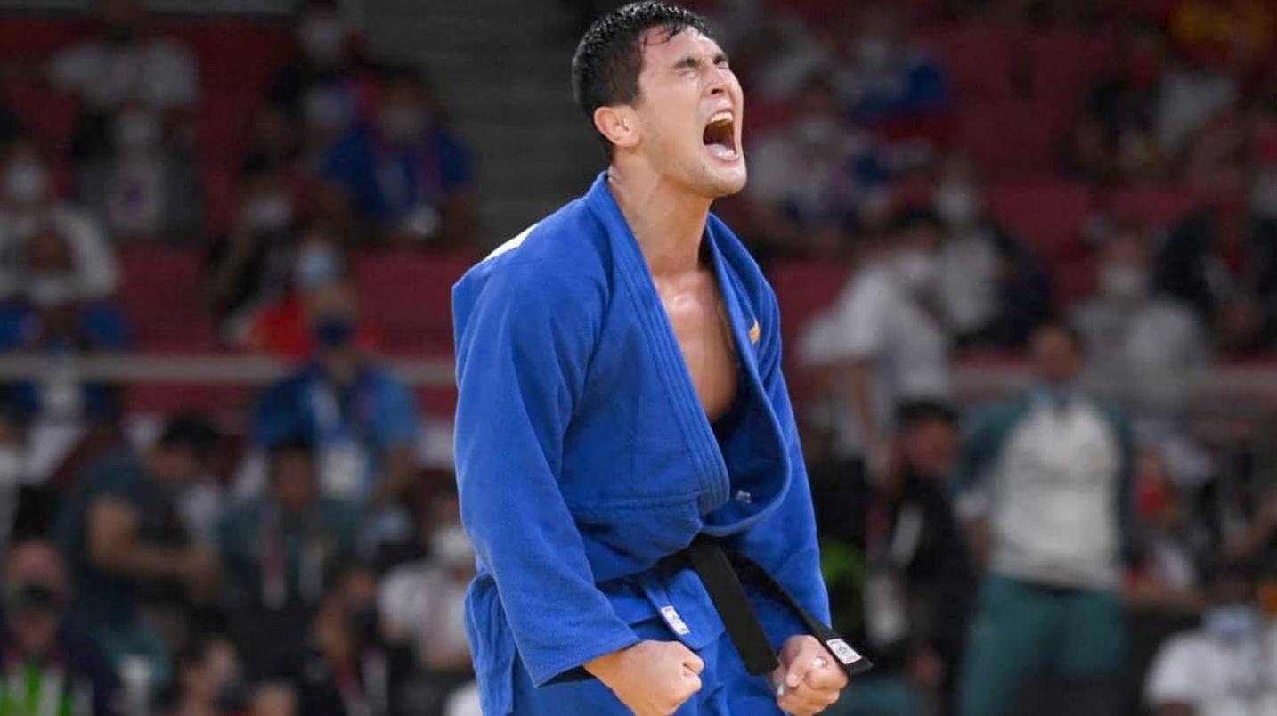 Дзюдоист Давлат Бобонов принес Узбекистану вторую медаль Олимпиады в Токио