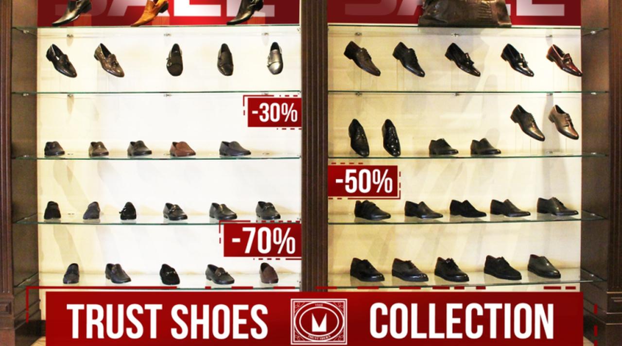 6992c9213b4 Бутик мужской одежды и обуви Trust Shoes объявляет скидки до 80 ...