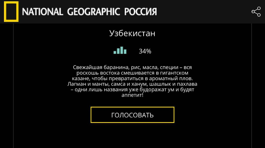 Узбекистан стал лучшим для гастрономического туризма по версии National Geographic