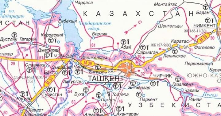 В феврале откроется автодорога, соединяющая Казахстан, Киргизию и Узбекистан