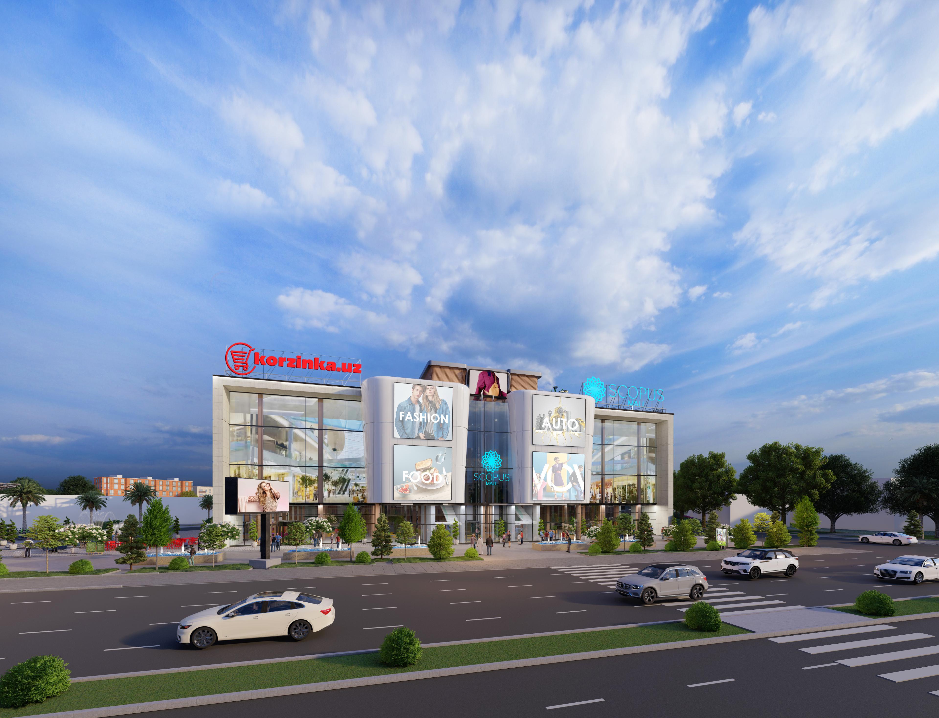 Scopus Mall – современный центр нового формата для вас и ваших автомобилей